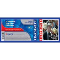 Lomond 1202091(XL Matt Paper) -Ролик.матовая,А1  610мм*50,8 мм, 180 г/м2, 30 метров.