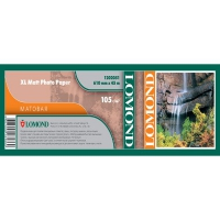 Lomond 1202051 (XL Matt Paper)- Ролик ,матовая, А1 610мм* 50,8 мм, 105 г/м2, 45 метров,