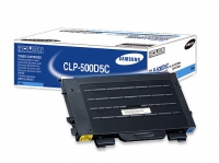 Картридж оригинальный голубой (cyan) Samsung CLP-500D5C, ресурс 5000 стр.