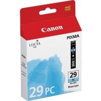 Картридж оригинальный фотографический голубой (photo cyan) Canon PGI-29PC, емкость 36 мл.