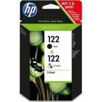Комбинированная упаковка оригинальных картриджей HP DJ CH561HE + CH562HE N122 черный и цветной