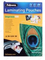 Пленка для ламинирования А3, 100 листов, 100 мкм, Fellowers