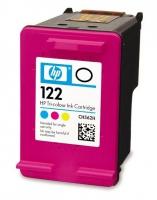 Картридж оригинальный (в технологической упаковке) HP CH564HE (№122XL) Color, ресурс  330 стр.