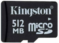 Карта памяти Kingston SDC 512Mb