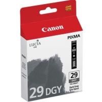 Картридж оригинальный темно-серый (dark grey / light black) Canon PGI-29DGY, емкость 36 мл.