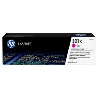 Картридж оригинальный пурпурный (увеличенного объема) HP 201X Magenta (CF 403X)