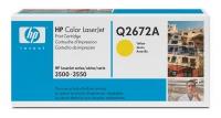 Картридж оригинальный желтый (yellow) HP Q2672A, ресурс 4000 стр.