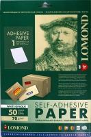 Lomond 2000005 Универс. Самокл. бумага непрозрачная неделеная A4  70g/m, 50 лист