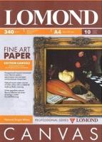 Lomond  340g/m  хлопковый холст 10 листов