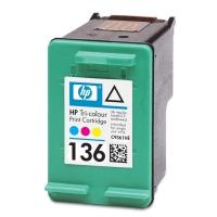 Картридж оригинальный (в технологической упаковке) HP C9361HE (№136) Color, объем 5 мл.