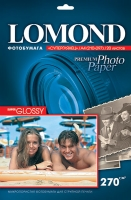 Lomond 1106102(Super Glossy Bright)-односторонняя Суперглянцевая ярко-белая А6 300g/m, 20 лист.