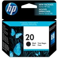 Картридж оригинальный черный HP C6614D (№20) Black, объем 28 мл.