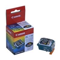 Печатающая головка оригинальная Canon BC-11 с цветным картриджем (BCI-11 Color) и черным картриджем (BCI-11 Black), ресурс 2000 стр.