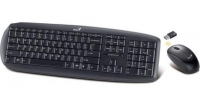 Комплект Genius SlimStar 8000X wireless Black USB беспроводные мышь и клавиатура