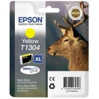 Картридж оригинальный (блистер) желтый (yellow) Epson T1304 XL / C13T13044010, объем 10,1 мл.