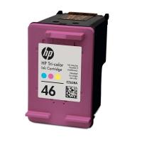 Картридж оригинальный (блистер) HP CZ638AE (№46) Tri-Colour