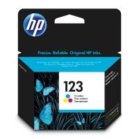 Картридж оригинальный HP F6V16AE (123) Color, ресурс 100 стр.