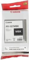 Картридж оригинальный Canon PFI-107MBk Black