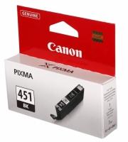 Картридж оригинальный черный (black) Canon CLI-451BK, объем 7 мл.