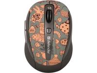 Оптическая беспроводная мышь Defender To-GO MS-585 Nano Wonderland Brown USB