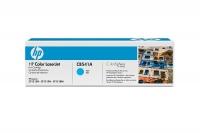 Картридж оригинальный голубой (cyan) HP CB541A, ресурс 1400 стр.