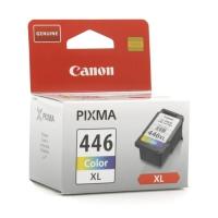 Картридж оригинальный (увеличенный цветной) Canon CL-446XL, ресурс 300 стр.