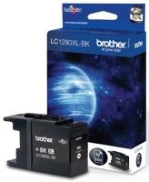 Картридж оригинальный черный (black) (увеличенного объема) Brother LC1280XL-Bk, ресурс 2400 стр.