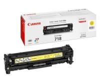 Картридж оригинальный желтый (yellow) Canon Cartridge 718Y, ресурс 2900 стр.