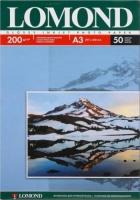 Lomond 0102024 Односторонняя глянцевая фотобумага  для струйной печати, A3, 200 г/м2, 50 листов.