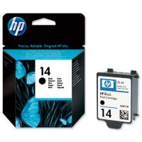Картридж оригинальный HP C5011DE (№14) Black 26 мл.