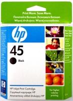 Картридж оригинальный черный (black) HP 51645A (№45), емкость 42 мл.