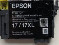 Картридж оригинальный (блистер) Epson T1711 (C13T17114A10) Black 17XL