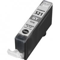 Картридж оригинальный (блистер) Canon CLI-521GY Gray