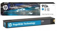 Картридж оригинальный HP F6T77AE PageWide (№913A) Cyan