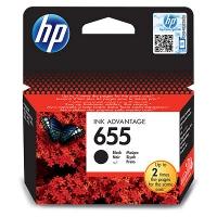 Картридж оригинальный черный (black) HP №655 CZ109AE BHK, ресурс 550 стр.