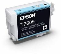 Картридж оригинальный (блистер) Epson T7605 (C13T76054010) Light Cyan