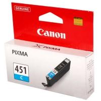 Картридж оригинальный голубой (cyan) Canon CLI-451С, объем 7 мл.
