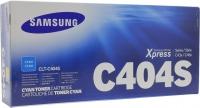 Картридж оригинальный Samsung CLT-C404S Cyan, ресурс 1000 стр.