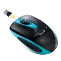 Оптическая беспроводная мышь Genius DX-7000 Black-Blue USB