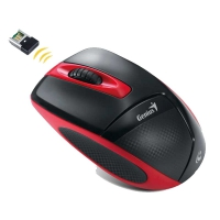 Оптическая беспроводная мышь Genius DX-7000 Black-Red USB