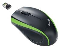 Оптическая беспроводная мышь Genius  DX-7010 Green-Black USB