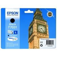 Картридж оригинальный черный (black) Epson T7031 / C13T70314010, ресурс 1200 стр.
