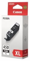 Картридж оригинальный черный (black) Canon PGI-450XL PGBk, емкость 22 мл.