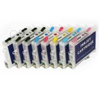 Комплект картриджей оригинальный (в технологической упаковке) Epson T0591- 599 (Bk / C / M / Y / LC / LM / LBk / MBk / LLBk)
