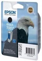Картридж оригинальный (блистер) черный Epson T007 black, ресурс 540 стр.