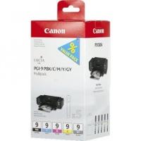 Комплект из 5 картриджей Canon PGI-9 Multipack. PGI-9PBk / PGI-9C / PGI-9M / PGI-9Y / PGI-9GY (5*14 ml)