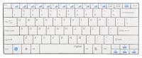 Клавиатура для ноутбука Rapoo E9050 White USB
