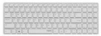 Клавиатура Rapoo 9100P White USB slim