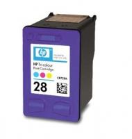 Картридж оригинальный (блистер) HP C8728A  (№28) Color , ресурс 240 стр.