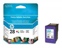 Картридж оригинальный цветной HP C8728A (№28) Color, ресурс 240 стр.